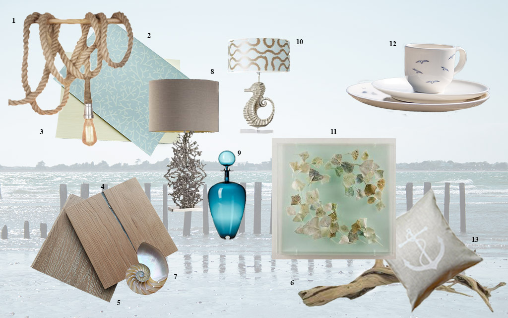 Coastal Cool Mood board