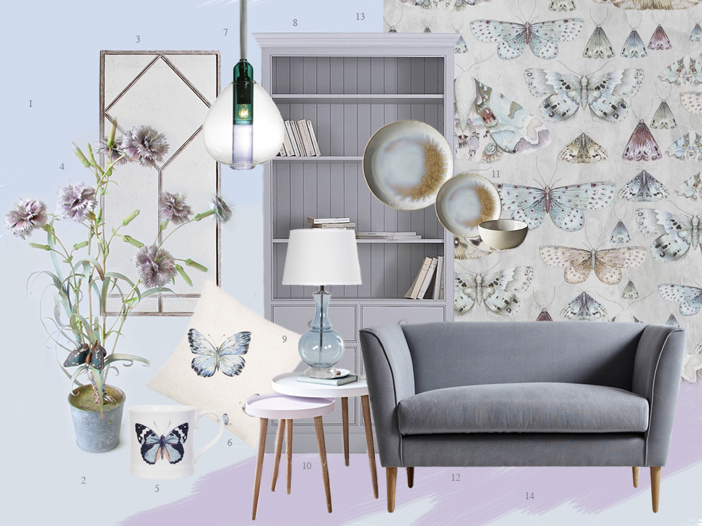 Style&Co - Butterfly Mood Board