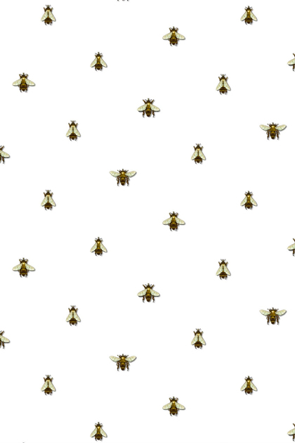 Timorous Beasties Bee wallpaper