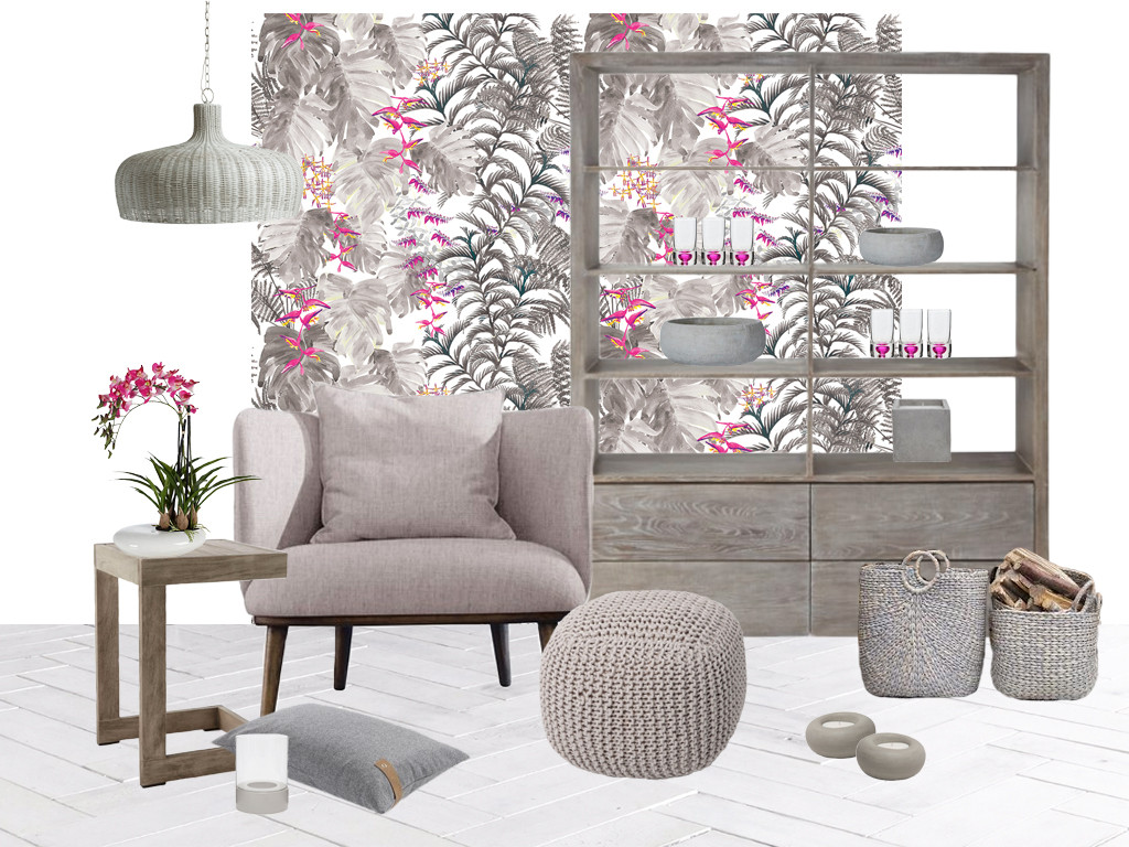Style&Co Tropical Hygge mood board