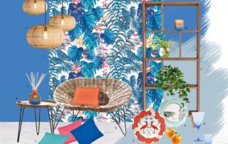 Retro Tropicna Style&Co moodboard