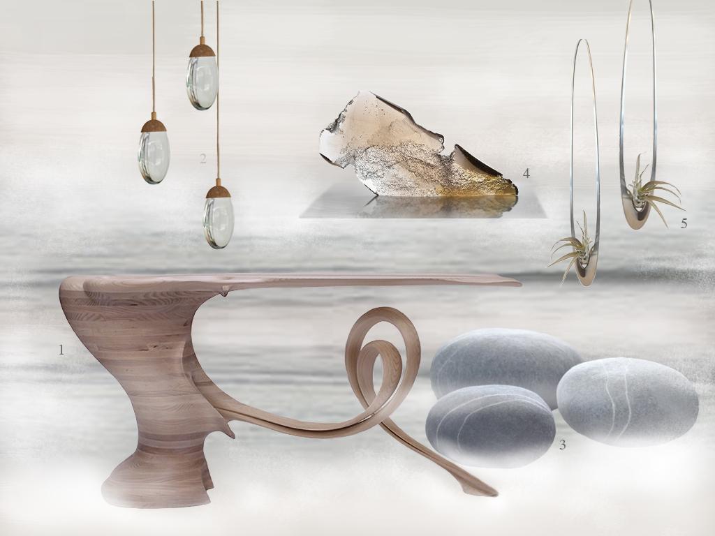 Ethereal Seascape moodboard