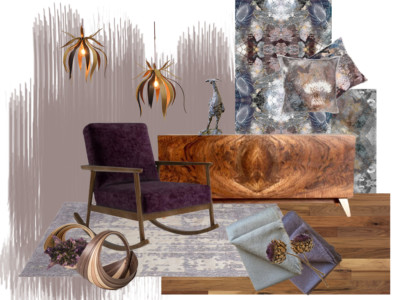 Heart Wood Mood Board