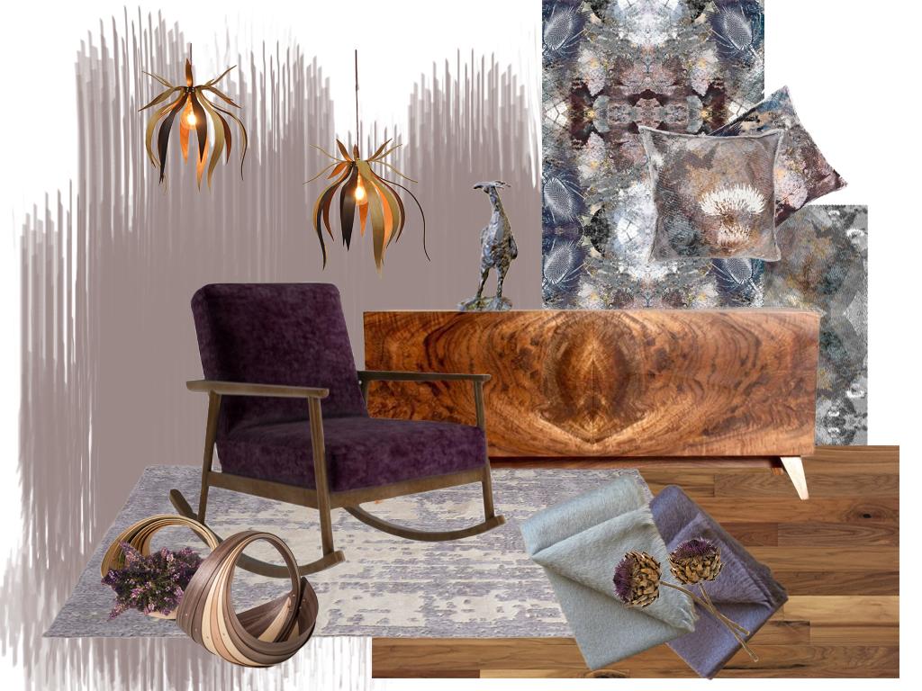 Style&C0 - Heart Wood Mood board
