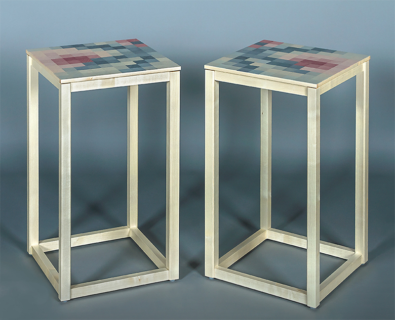 Kevin Stamper - Plum Blossom Tables