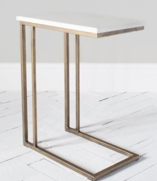 Chloe Marble side table Perch and Parrow