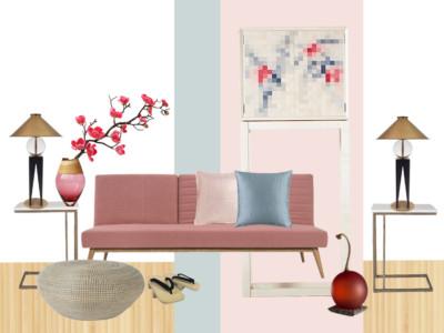 Style&Co Zen Blossom Mood board