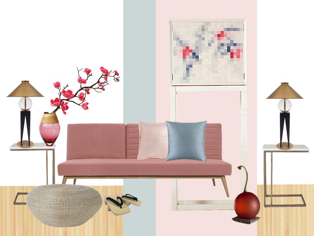 Style&Co - Zen Blossom Mood Board