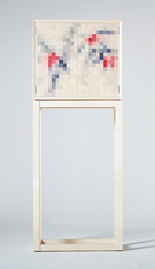Kevin Stamper - Plumb Blossom Cabinet