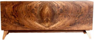 Kevin Stamper - walnut curl cabinet