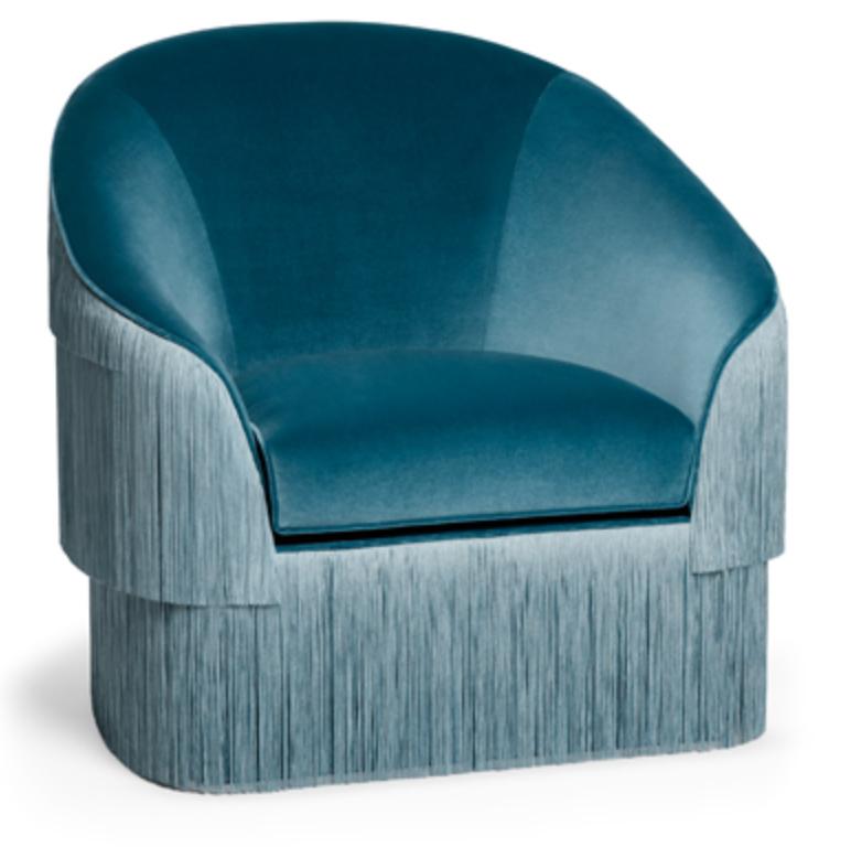 Munna fringed armchair