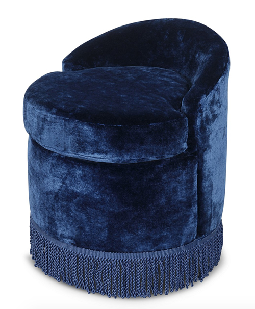 Oliver Bonds fringed chair