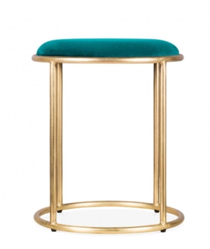 Cult-velvet-stool-