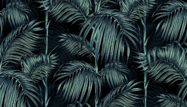Charlotte Jade - Balearic Palm Wallpaper - Style&Co mood board