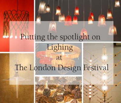 Lighting at the London Design Festival