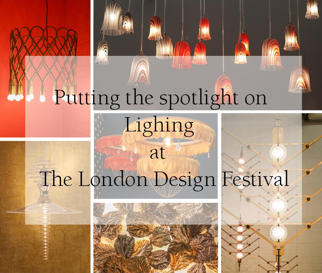 Lighting at the London Design Festival 2018