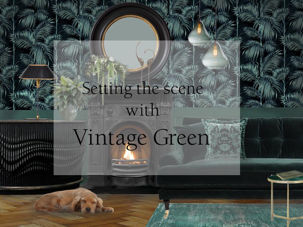 Vintage-Green Style&Co Interior Blog