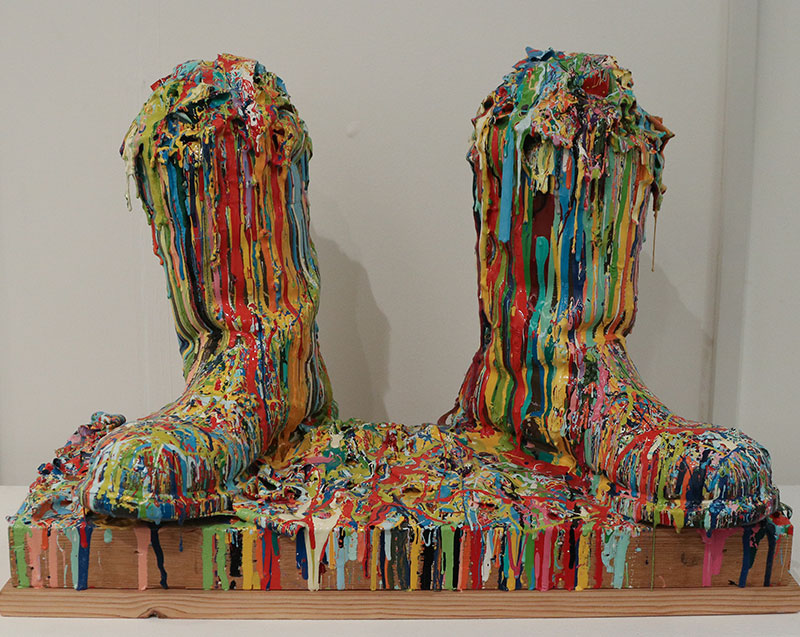 Russell West -Fill your boots -Woolff Gallery