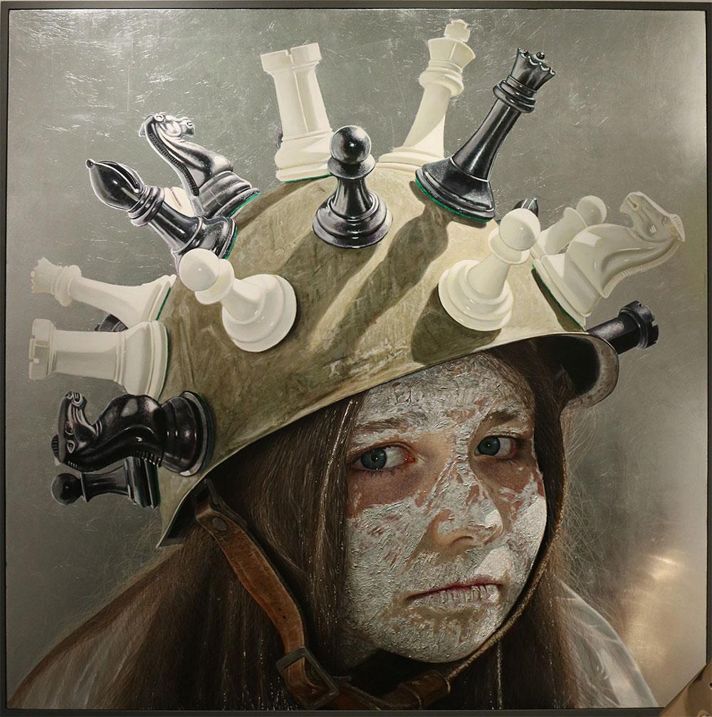 Gordon Harris Mind Games -Gormleys Gallery