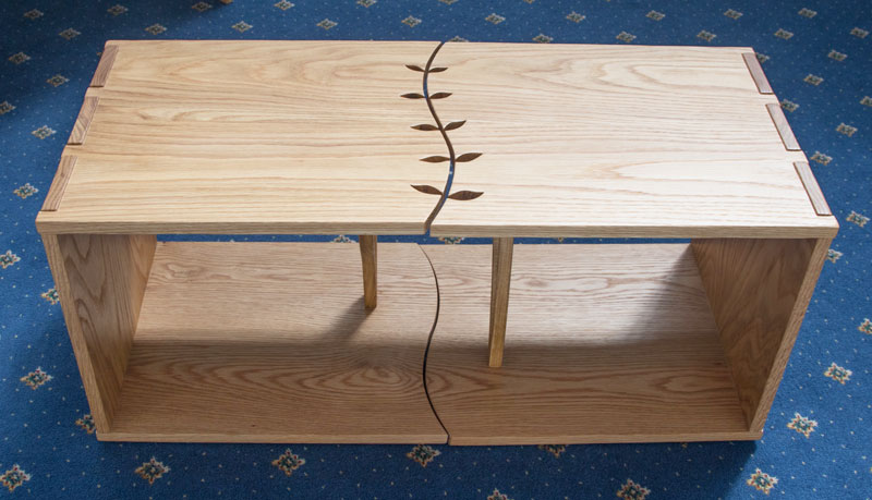 Hannah Dowling -'Split Leaf' coffee table